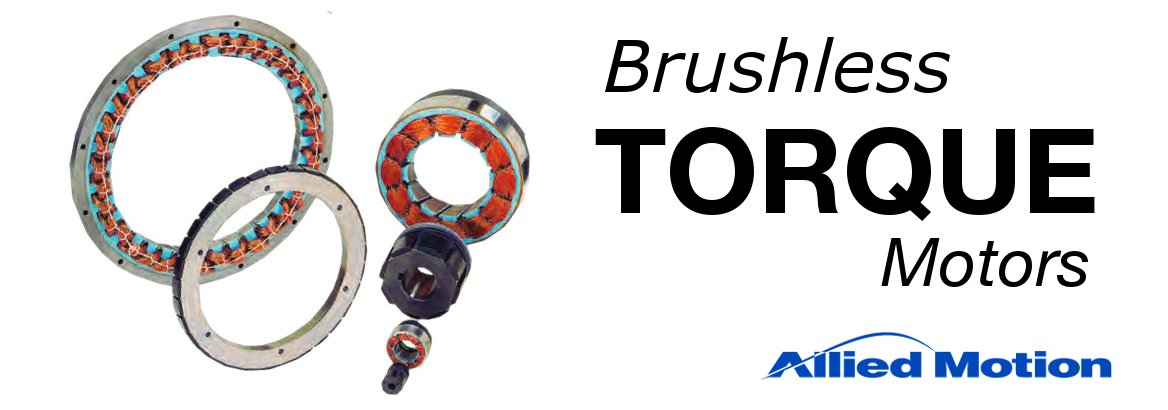 Allied Motion Brushless Torque Motors